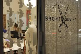 bronte sewing room