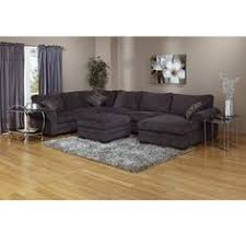 Gray Microfiber Sectional Sofa by Grey Sectional With Chaise And Giant Ottoman This Is The One I