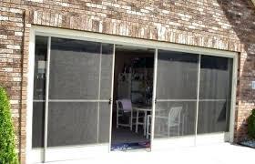 Patio Screen Door Sliding Screen Patio Door Garage Screen Sliding Door Installation