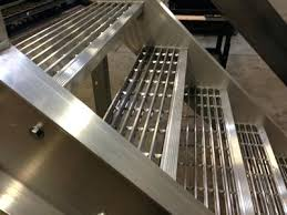 bar grating stair treads welded steel galvanized replacement metal