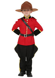 Halloween Costumes Boy Kids Toddler Canadian Mountie Costume