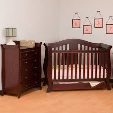 storkcraft 2 piece nursery set vittoria convertible crib and