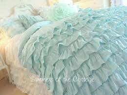 ruffle bedding shabby chic best 25 shabby chic comforter ideas on