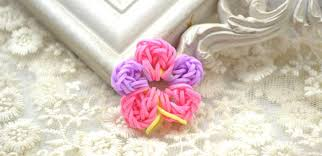 flower bands how to loom a handmade colorful flower with rubber bands