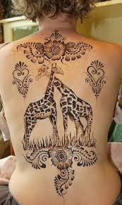 watercolor giraffe tattoo by keith fieler at artistic skin design
