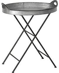 fold away tray table spring savings on galvanized metal folding tray table