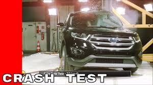 Ford Edge Safety Rating 2017 Ford Edge Crash Test Youtube