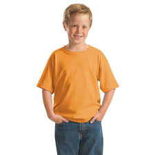 Colors Orange Gildan Youth Heavy Cotton 100 Cotton T Shirt Dark Colors With