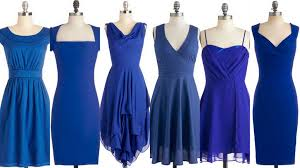 cobalt blue bridesmaid dresses royal blue and cobalt bridesmaid dress ideas