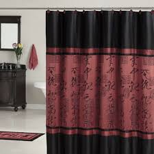 burgundy shower curtain sets curtains wall decor