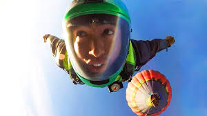 gopro wingsuit air balloon jump youtube