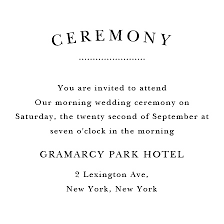 ceremony cards luxury wedding invitation wording reception and ceremony same