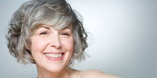 how to go gray naturally huffpost