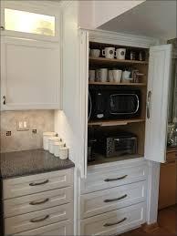 Roller Door Cabinets 55 Exles Common Ausgezeichnet Appliance Cabinet Kitchen Tambour