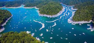 Lake Cumberland Map Sunsation Employees Hitting Lake Lake Cumberland Poker Run