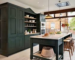 green kitchen cabinets home design ideas