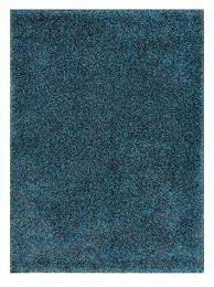 Polypropylene Area Rug Solid Blue Rug Roselawnlutheran