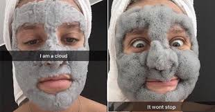 Face Mask Meme - people are going mad for a new face mask that turns your face into