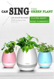 Flower Pot Sale Sale Latest Design And Real Music Plastic Flower Pot