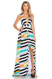 Flag Dress Mara Hoffman Wrap Top Maxi Dress In Flag Stripe Rainbow Revolve