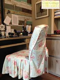 cozy cottage slipcovers shabby chic texas style in the office