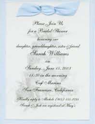 bridal shower invitations wording sle bridal shower invitations vertabox