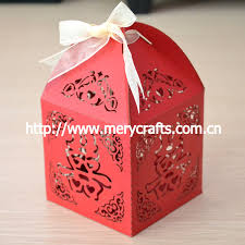 new year box laser cut new year gift candy boxes new year