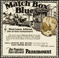 Blind Lemon Jefferson Matchbox Blues Blancoynegroblues Blind Lemon Jefferson El Rey De La Guitarra