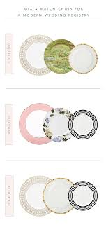 wedding registry china how to mix n match china for a modern registry coco kelley coco