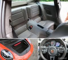 porsche 911 back seat porsche 911 s back seat and boot autonetmagz