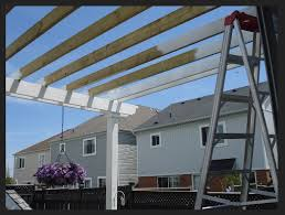 Building A Pergola Attached To The House by Pergoladiy How To Build A Pergola In One Weekend