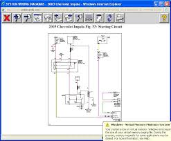 need simplified circuit diagram car is 2003 impala 3 8 would