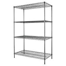 3 Shelf Wire Rack Storage Cabinets U0026 Shelving Units Costco
