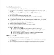 Household Manager Resume Wanted Foster Parents U2014 Southwest Health And Human Services In