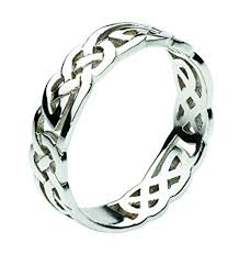 celtic ring heritage women sterling silver celtic open knotwork ring