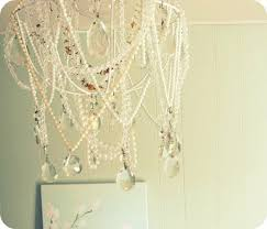 How To Make A Beaded Chandelier Clever Ways To Reuse Your Broken Things Homemade Chandelier Beaded
