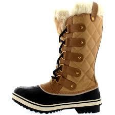 womens duck boots uk womens sorel tofino cate winter mid calf waterproof duck