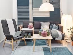 Scandinavian Livingroom Living Room Scandinavian Ready Made Curtains Nordic Style