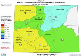 Dolores Colorado Map by Colorado Snowpack Update Recent Big Snows Mean Some Recovery
