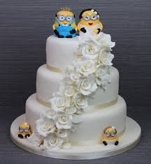 minion wedding cake topper creative cakes ireland wedding cakes