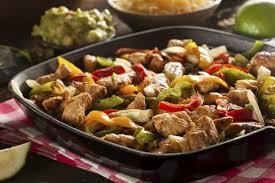cuisiner poivron recette fajitas au poulet et aux poivrons 750g