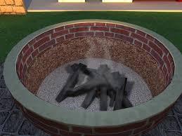 Fire Pit Mat by Easy Build Fire Pit Fire Pit Design Ideas