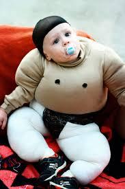 Sumo Wrestler Halloween Costumes Baby Sumo Wig Nature Wigs