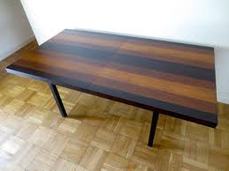 milo baughman dining table sold milo baughman directional dining table modern redemption