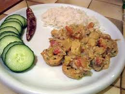 cuisiner du lieu noir recette de curry de lieu noir et crevettes
