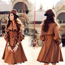 Long Trench Coats For Women Long Womens Trench Coat