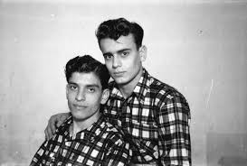 amin hijazi left and his cousin gharamti studio shehrazade