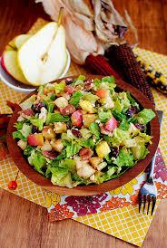 autumn chopped salad iowa eats