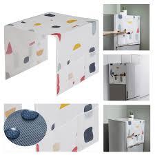 top of fridge storage waterproof refrigerator dust cover household freezer top bag fridge