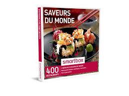 cuisine et saveur du monde coffret cadeau saveurs du monde smartbox